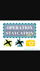 WE SURVIVED OUR STAYCATION……JUST ABOUT….